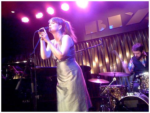 Jeanette Lindström live im Bix
